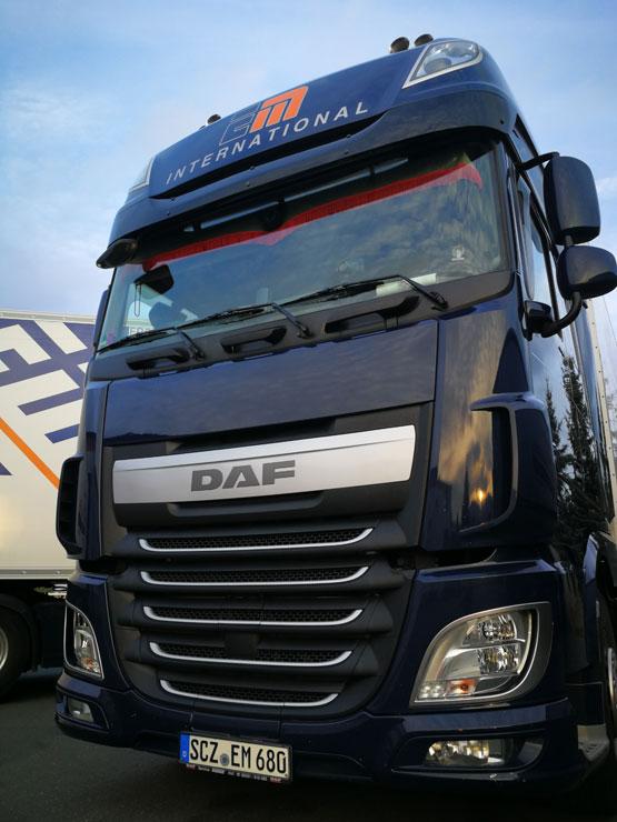 EM - Logistik Fahrzeug DAF