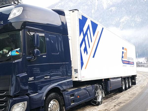 Tiefkühltransporte EM Logistik